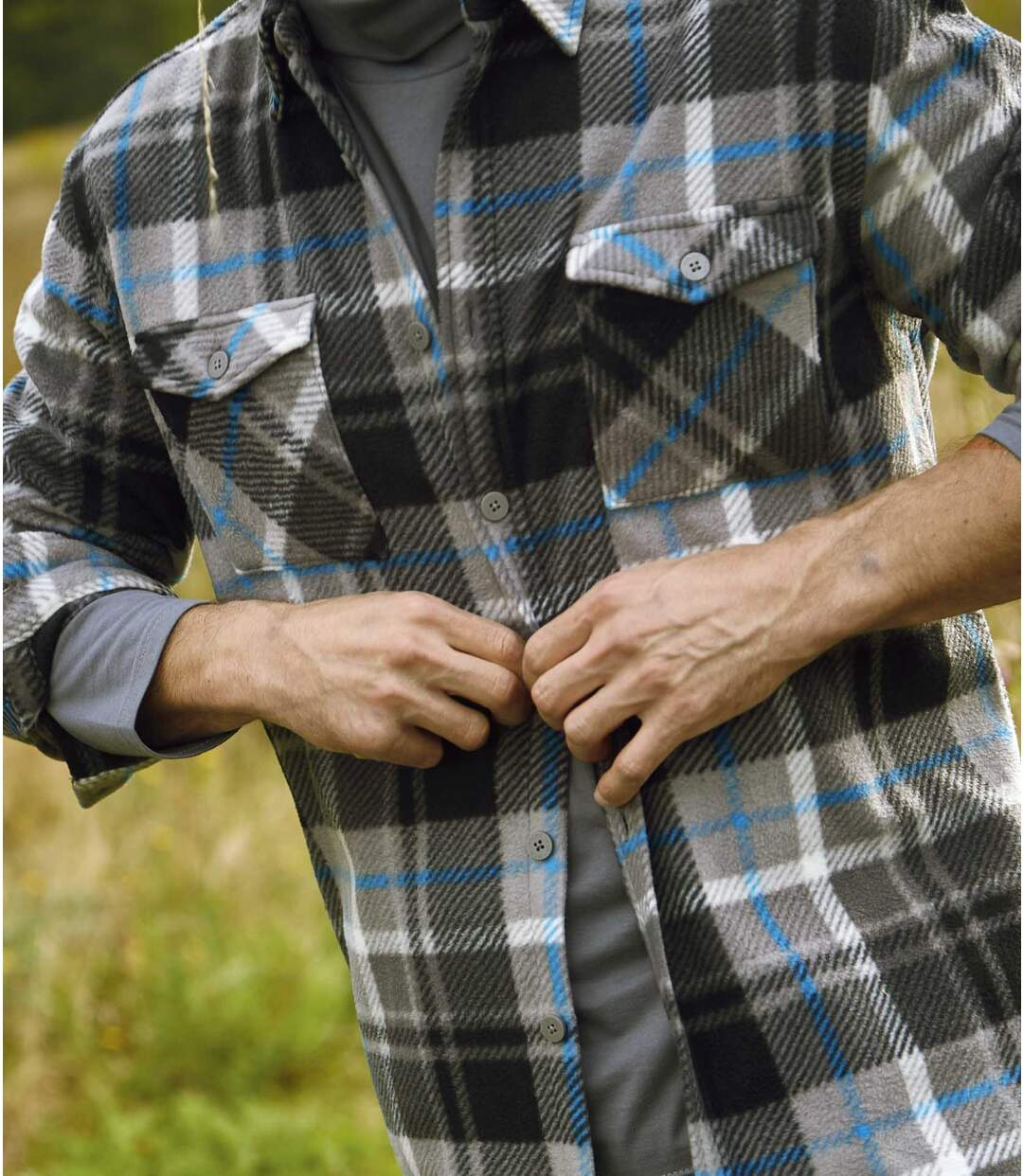 Fleeceoverhemd Cordoba