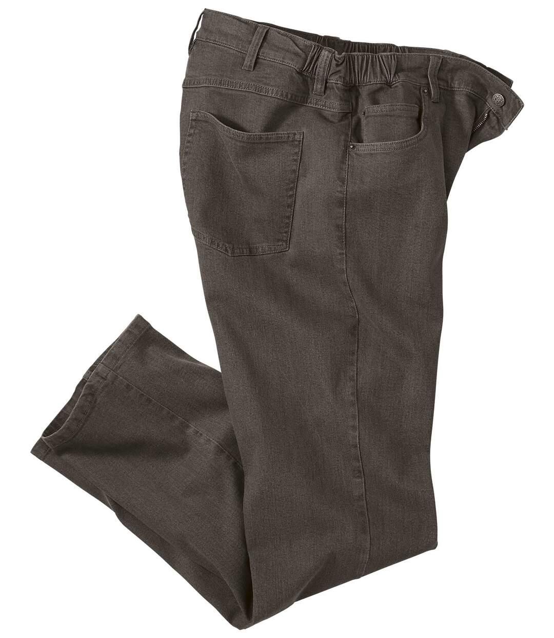 Wygodne jeansy ze stretchem