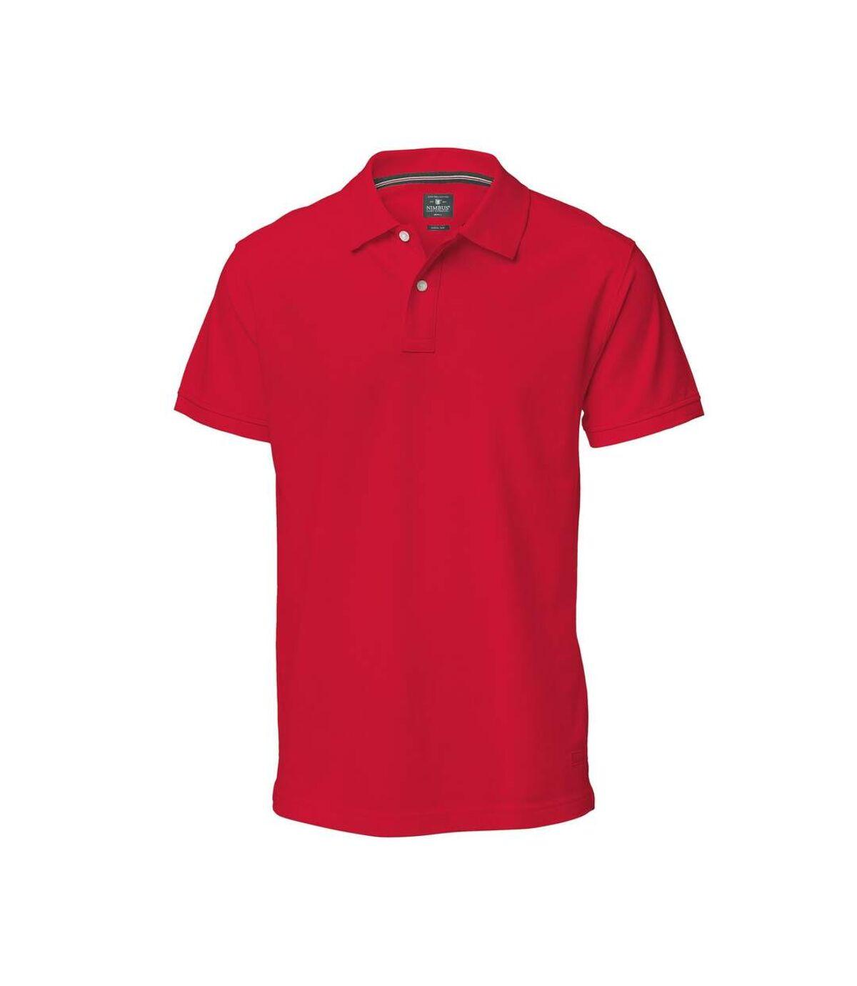 Nimbus Mens Yale Short Sleeve Polo Shirt (Navy) - UTRW3619