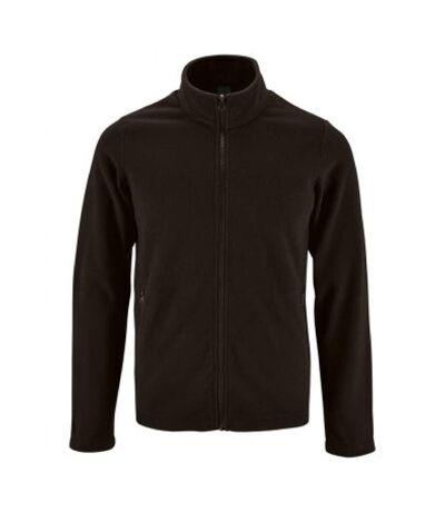 SOLS Mens Norman Fleece Jacket (Black) - UTPC3210