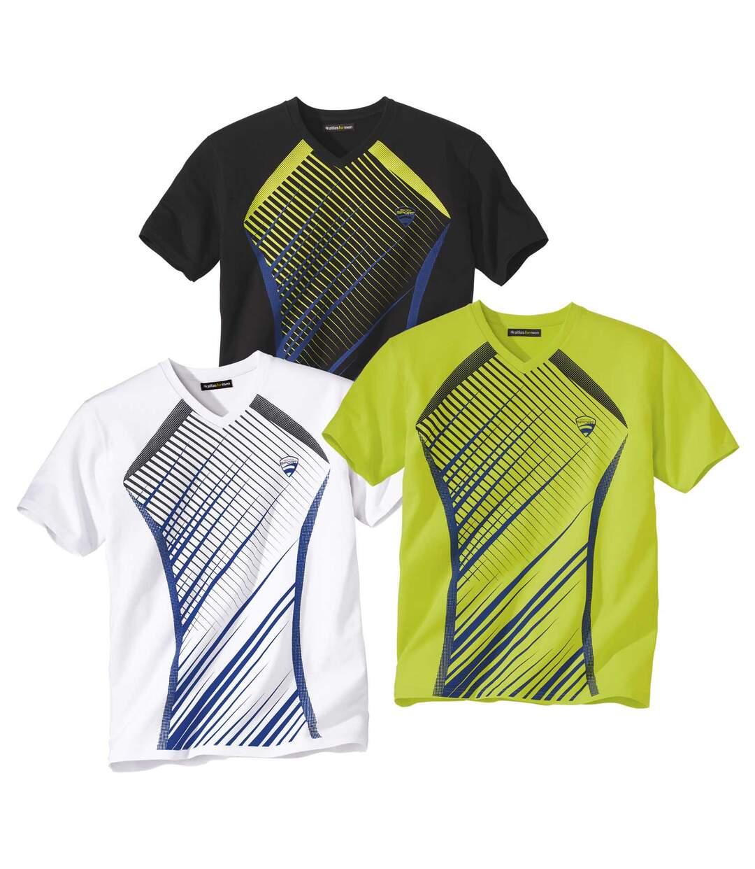 Sada 3 triček Summer Sport