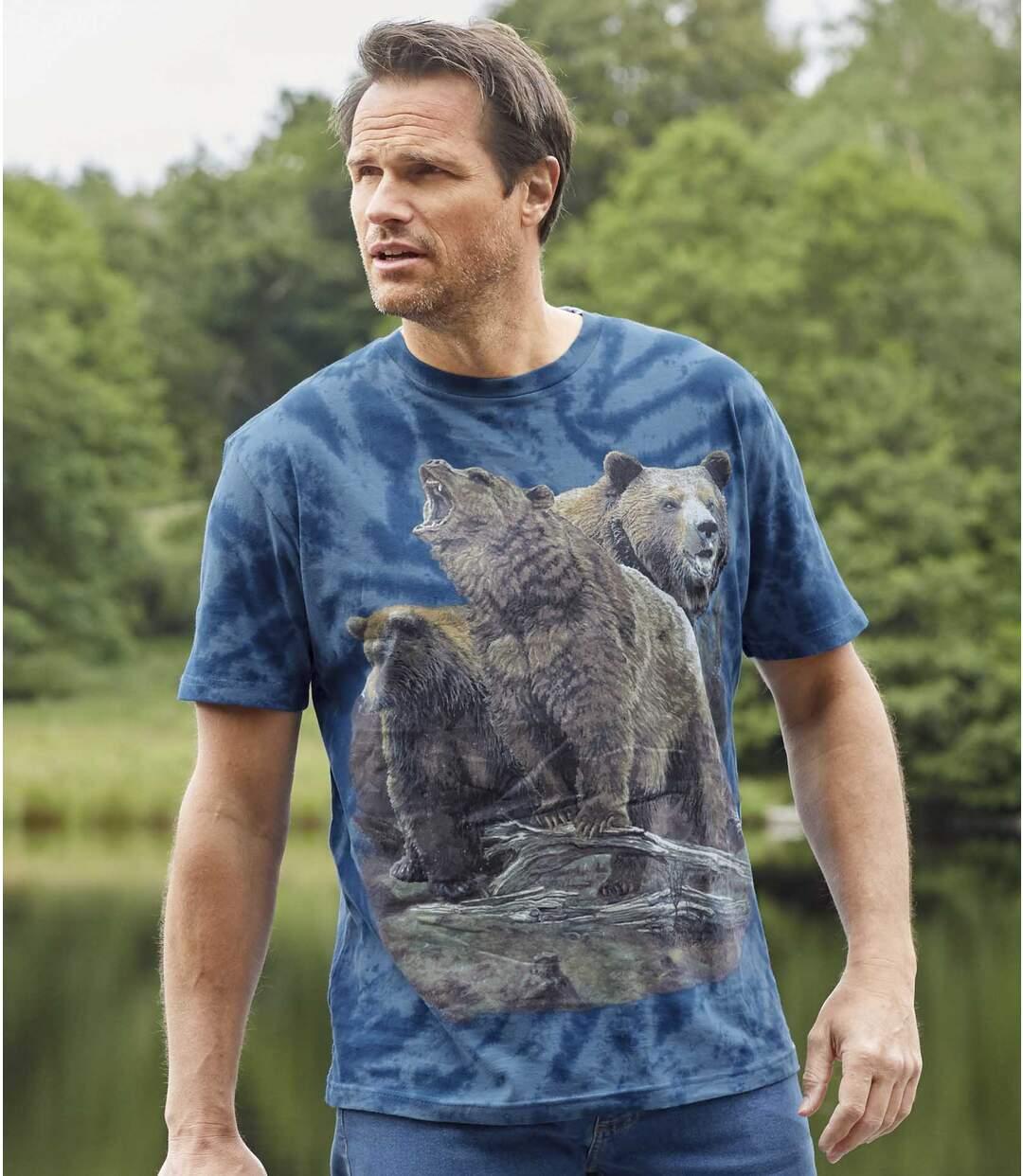 Tričko Medvědi ve skalách