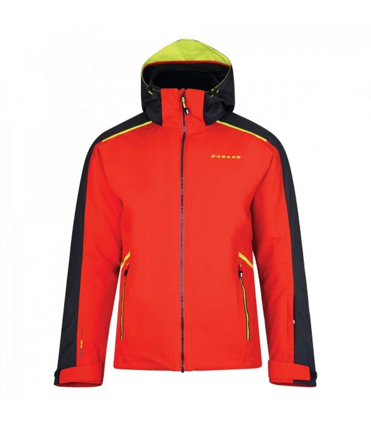 Dare2B Mens Educe Promo Jacket (Orient Red/Signal Black) - UTRG3597