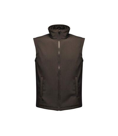 Regatta Professional Mens Ablaze Soft Shell Bodywarmer (Black/Black) - UTPC4060