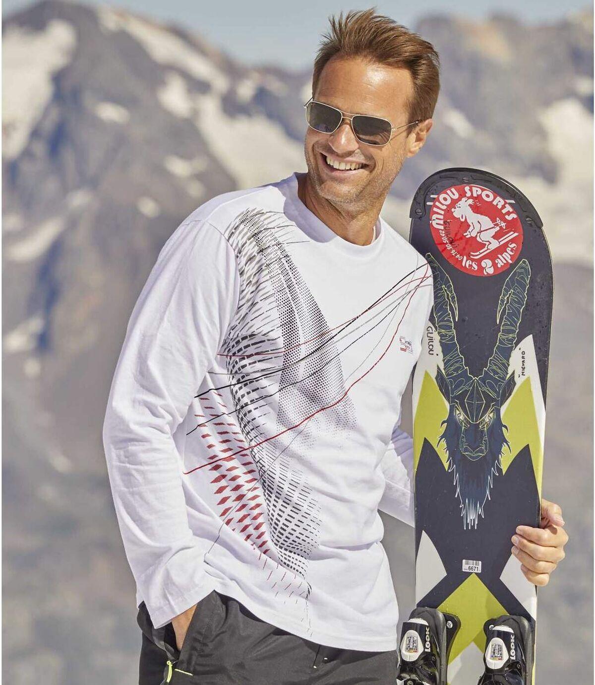 2darabos Winter Sport póló szett Atlas For Men
