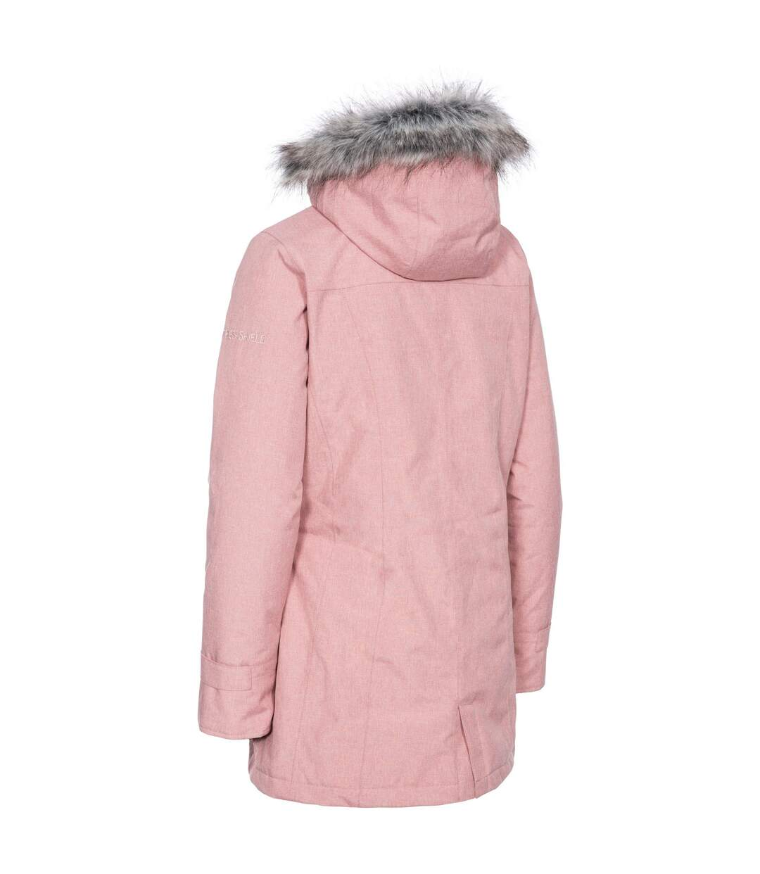 Trespass Womens/Ladies Daybyday Waterproof Jacket (Dusty Rose) - UTTP4759