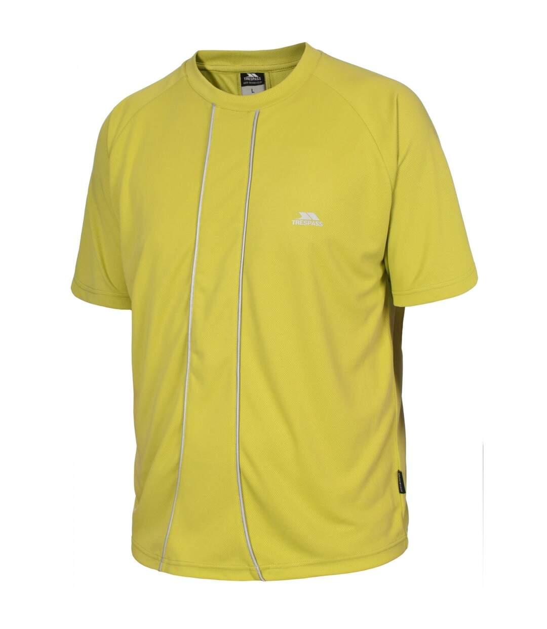 Trespass Mens Ruthin Active Sport Short Sleeve T-Shirt (Greenglow) - UTTP2507