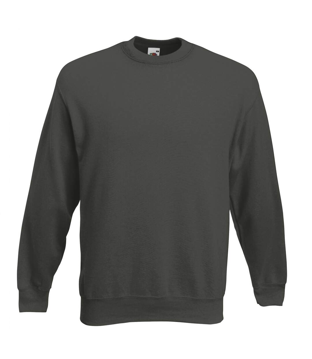 Fruit Of The Loom Unisex Premium 70/30 Set-In Sweatshirt (Charcoal) - UTRW3159