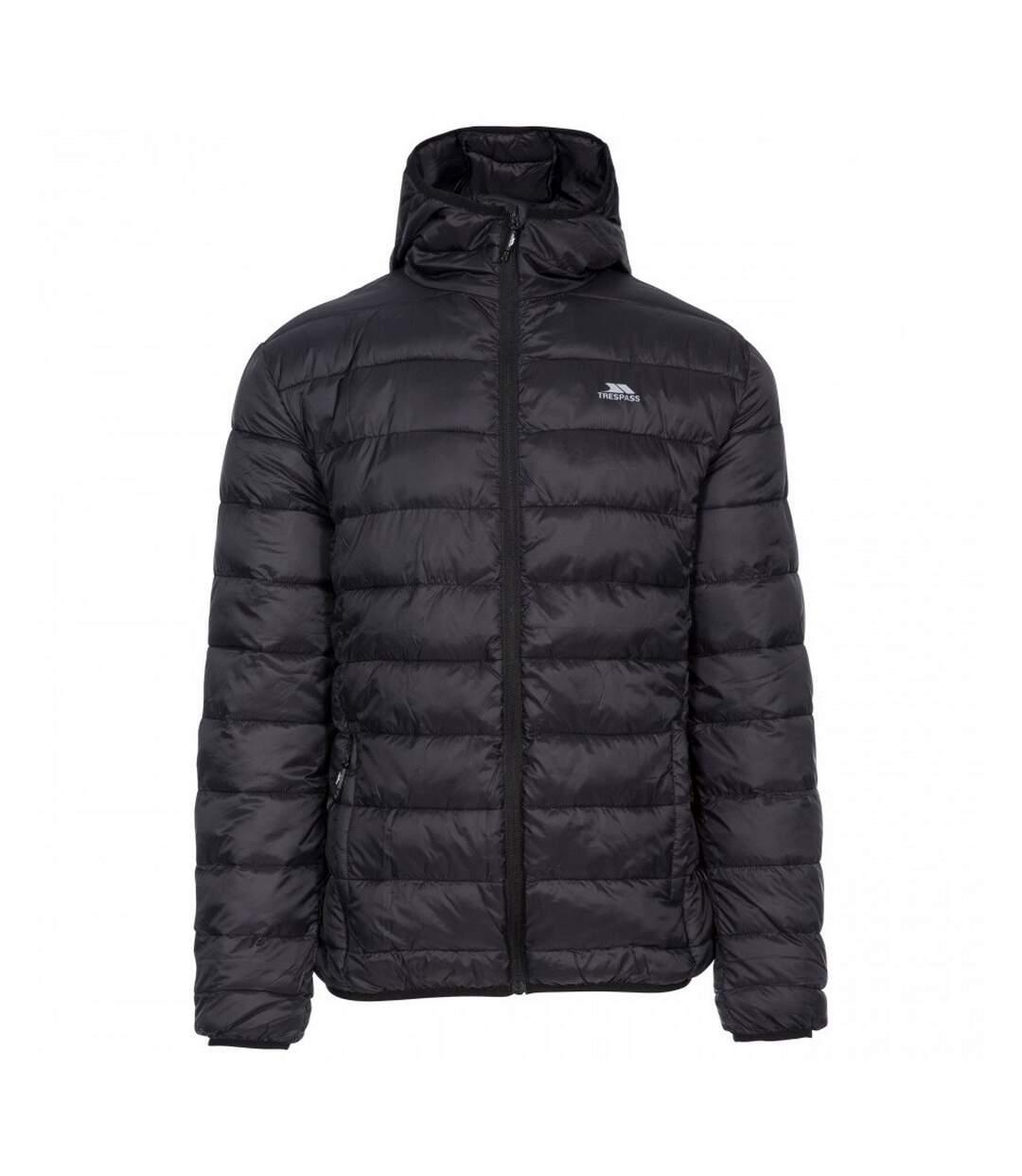 Trespass Mens Carruthers Padded Jacket (Black) - UTTP4898