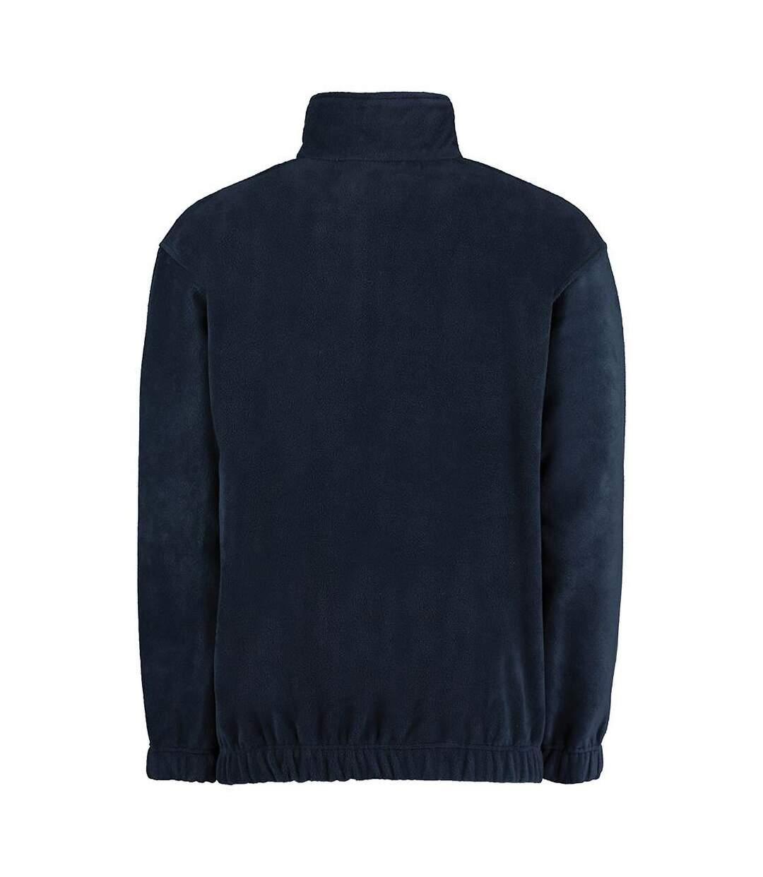 Grizzly® Full Zip Active Fleece Jacket (Navy) - UTRW535