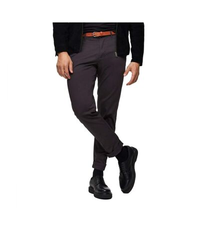 Pantalon chino gris foncé homme Selected Yard