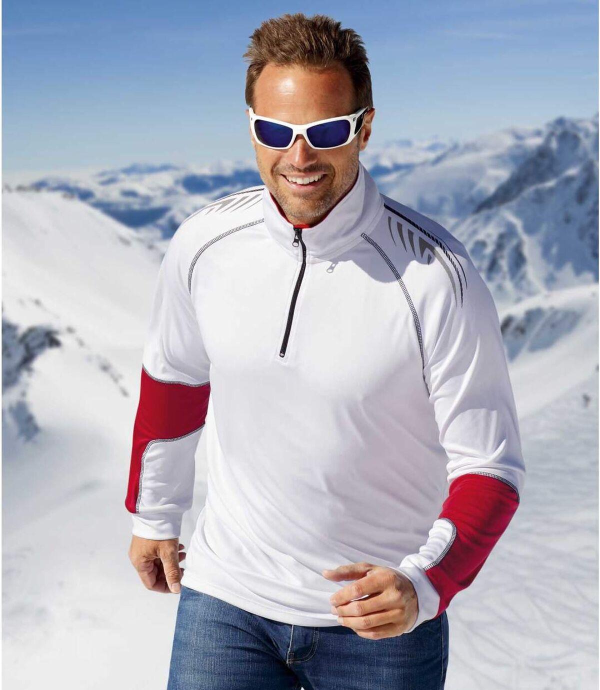 2darabos, Sportmen cipzáras nyakú aláöltözetből álló szett Atlas For Men
