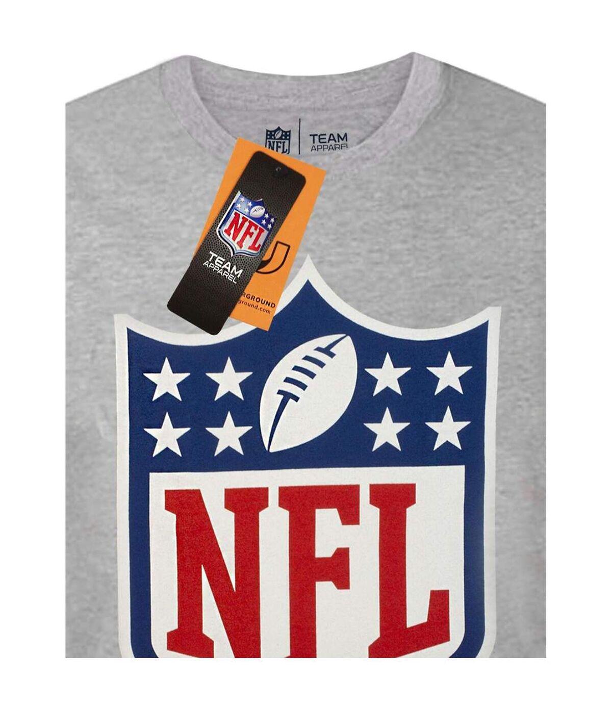 NFL Mens logo Shield T-Shirt (Grey) - UTNS6048