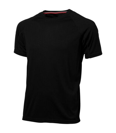 Slazenger Mens Serve Short Sleeve T-Shirt (Solid Black) - UTPF1730