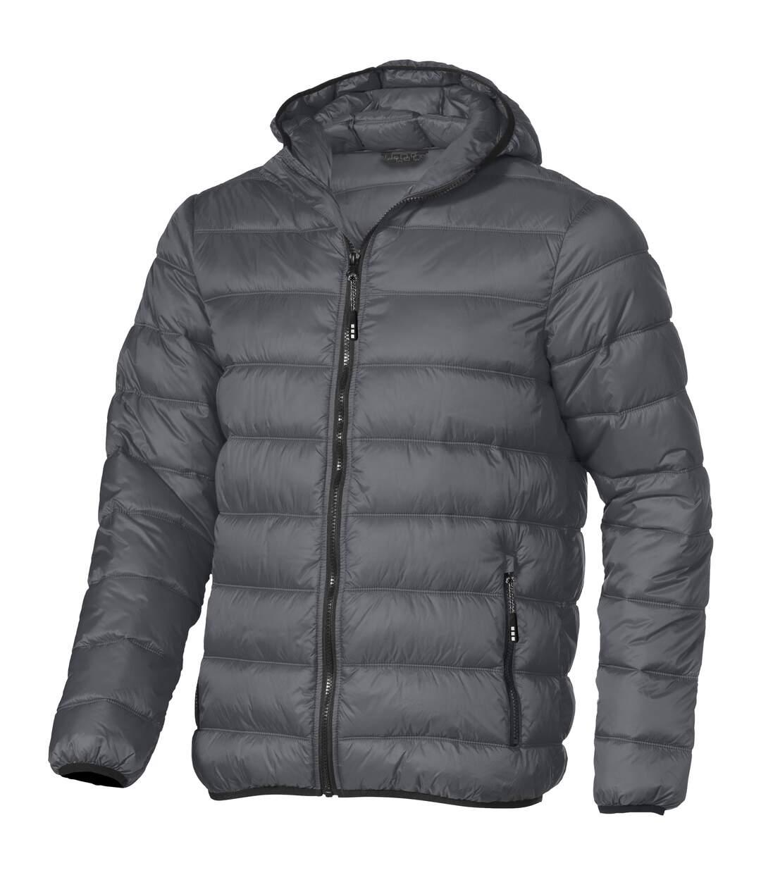 Elevate Mens Norquay Insulated Jacket (Steel Grey) - UTPF1916