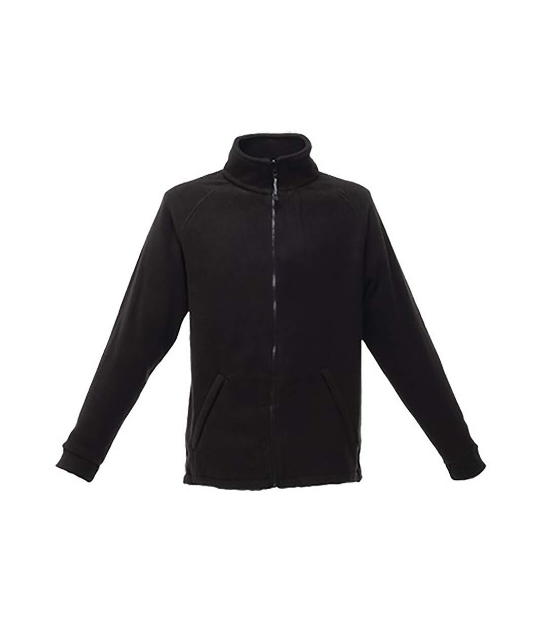 Regatta Great Outdoors Unisex Sigma Symmetry Heavyweight Anti-Pill Fleece Zip Up Jacket (380 GSM) (Black) - UTRG1843