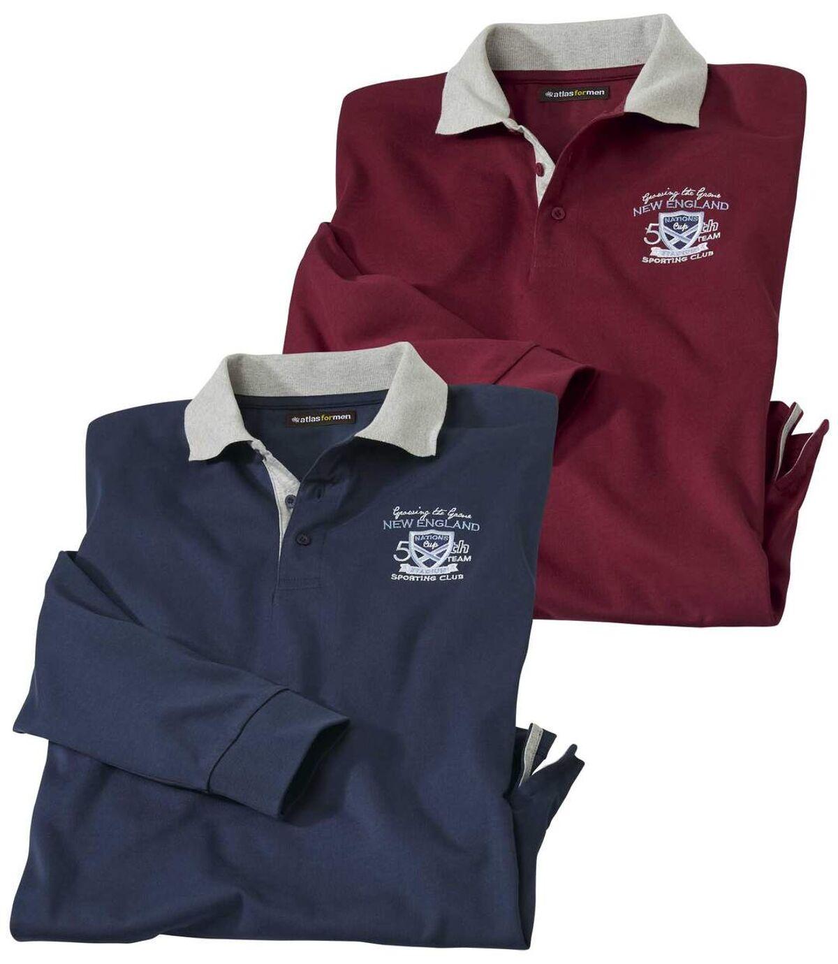Sada 2 polo triček Sporting Club Atlas For Men