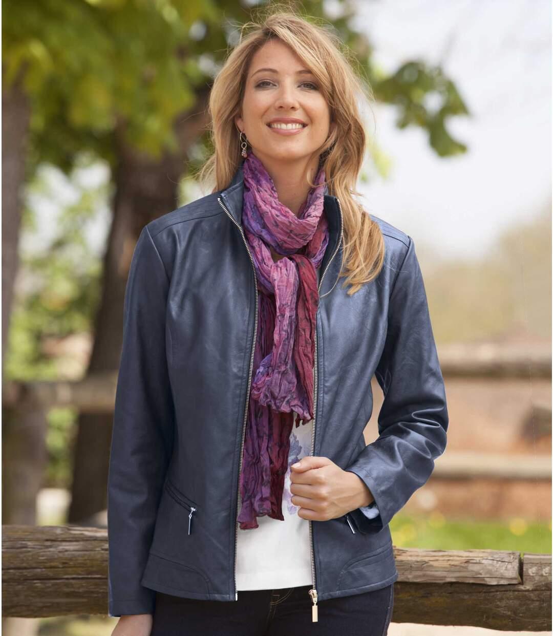 Koženková bunda