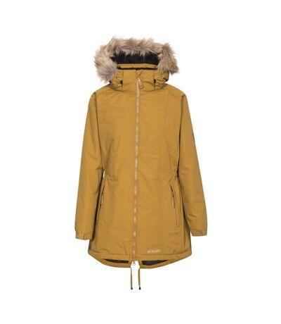 Trespass Womens/Ladies Celebrity Insulated Longer Length Parka Jacket (Golden Brown) - UTTP4190