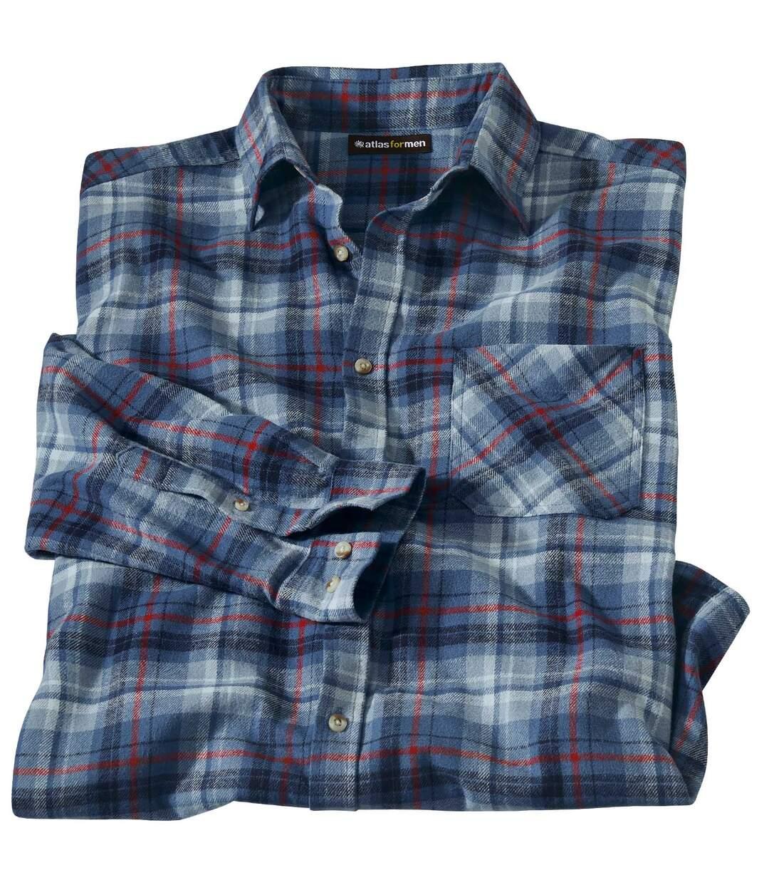 Kockovaná flanelová košeľa Rivadavia