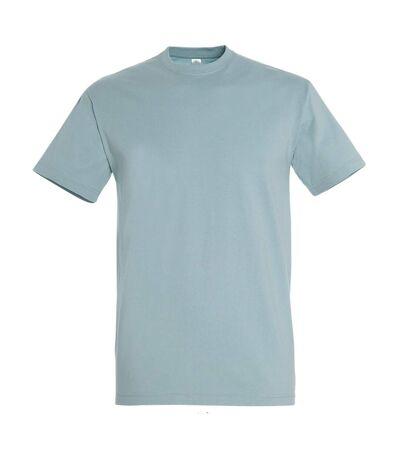 SOLS Mens Imperial Heavyweight Short Sleeve T-Shirt (Ice Blue) - UTPC290
