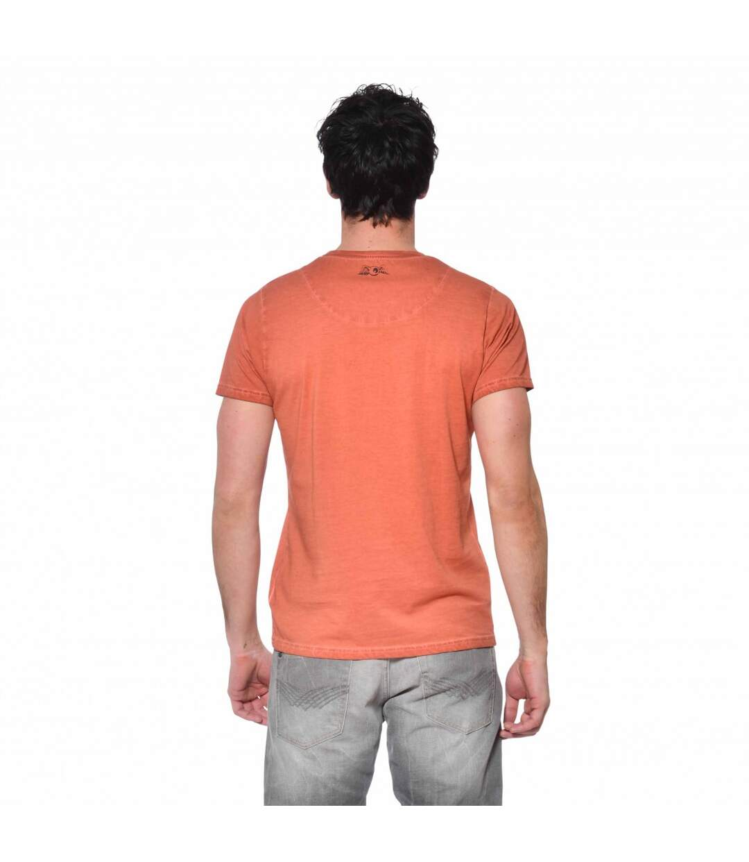 T-shirt col rond coton homme Rude