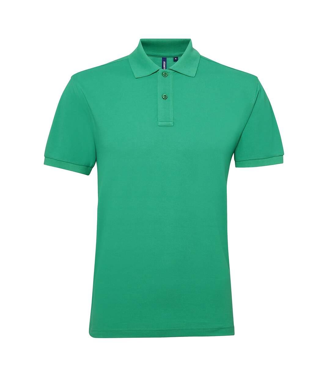 Asquith & Fox Mens Short Sleeve Performance Blend Polo Shirt (Kelly) - UTRW5350