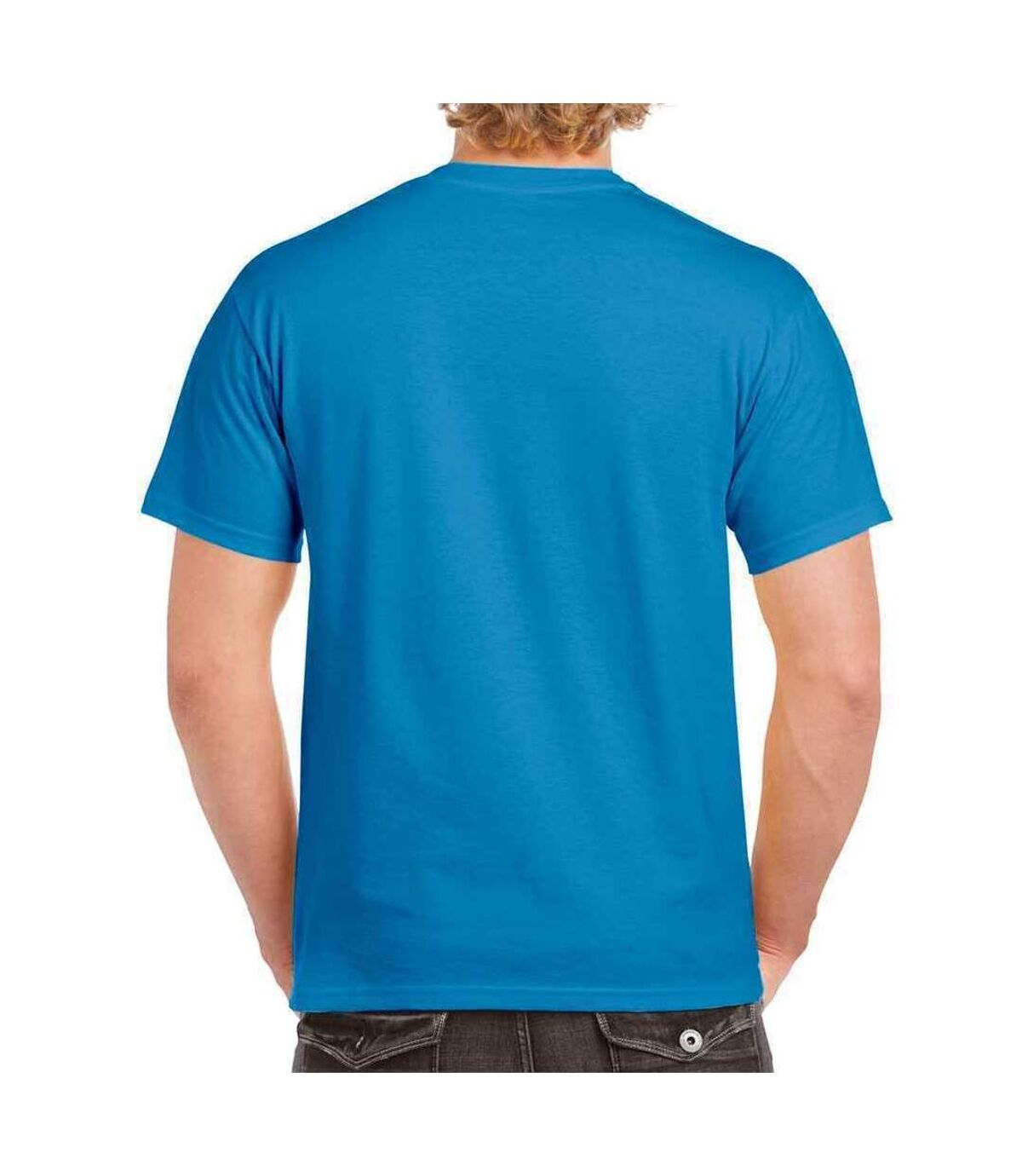 Gildan Mens Hammer Heavyweight T-Shirt (Iris) - UTPC3067
