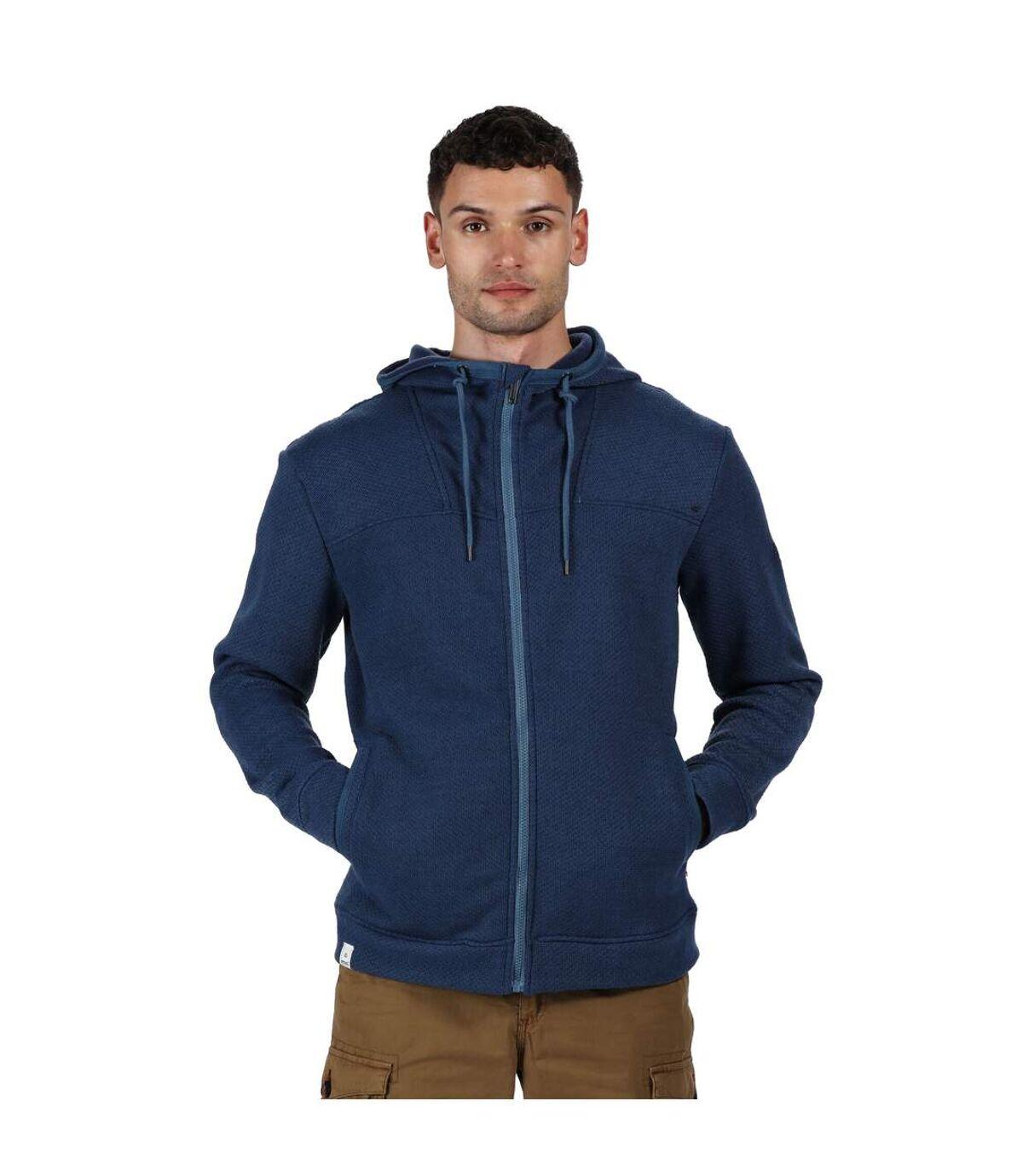 Regatta - Veste polaire à capuche LASZLO - Homme (Bleu marine) - UTRG4912