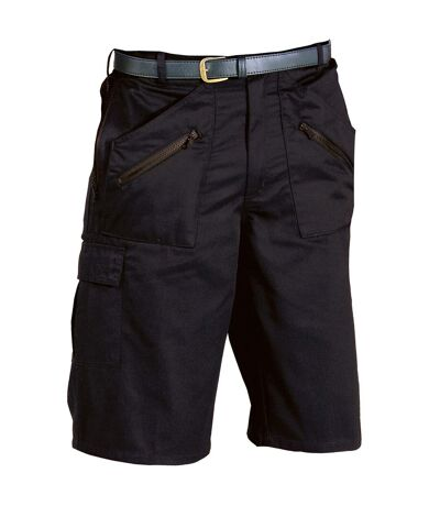 Portwest Mens Action Shorts (S889) (Black) - UTRW1009