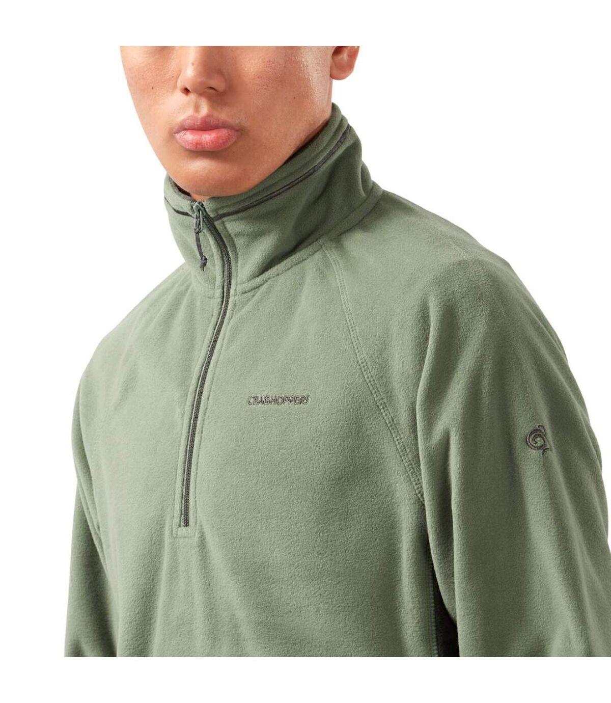 Craghoppers - Haut polaire COREY - Homme (Vert de gris / Anthracite chiné) - UTCG1466