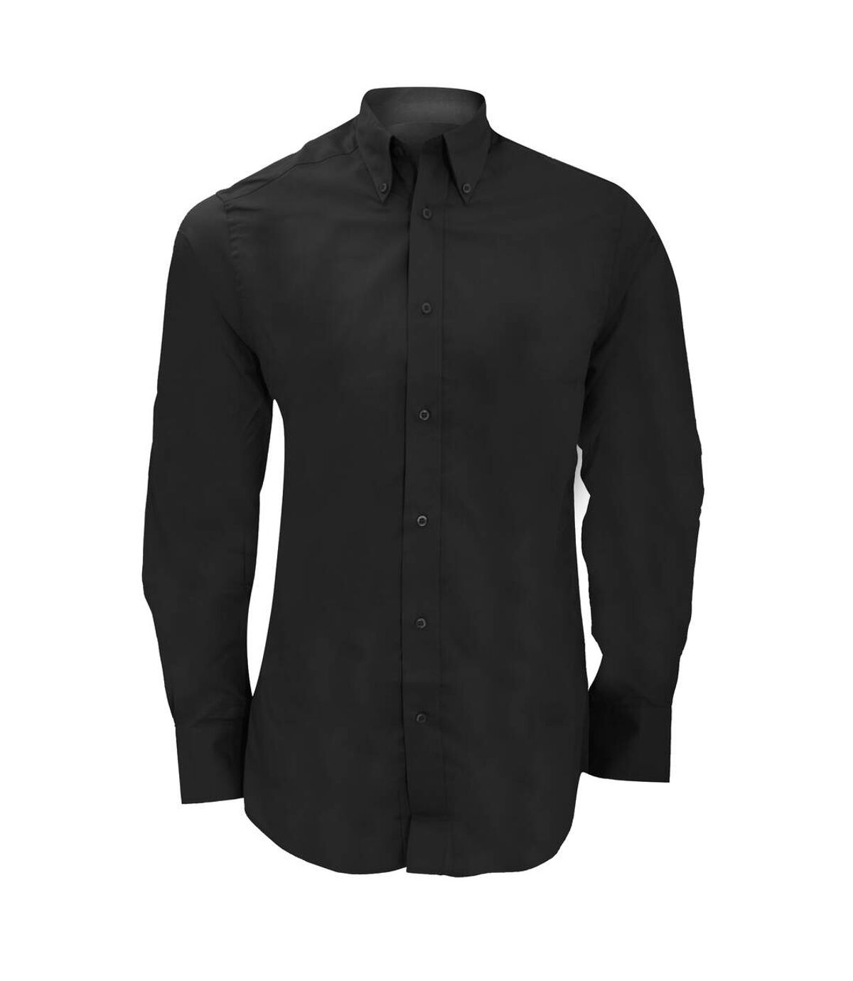 Kustom Kit Mens City Long Sleeve Business Shirt (Black) - UTBC1449