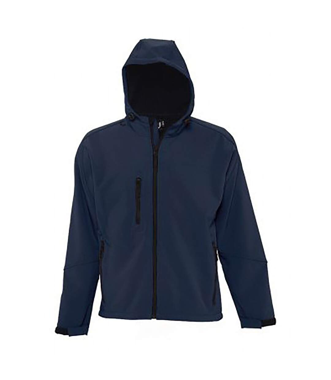 SOLS Mens Replay Hooded Soft Shell Jacket (Breathable, Windproof And Water Resistant) (Pepper Red) - UTPC410