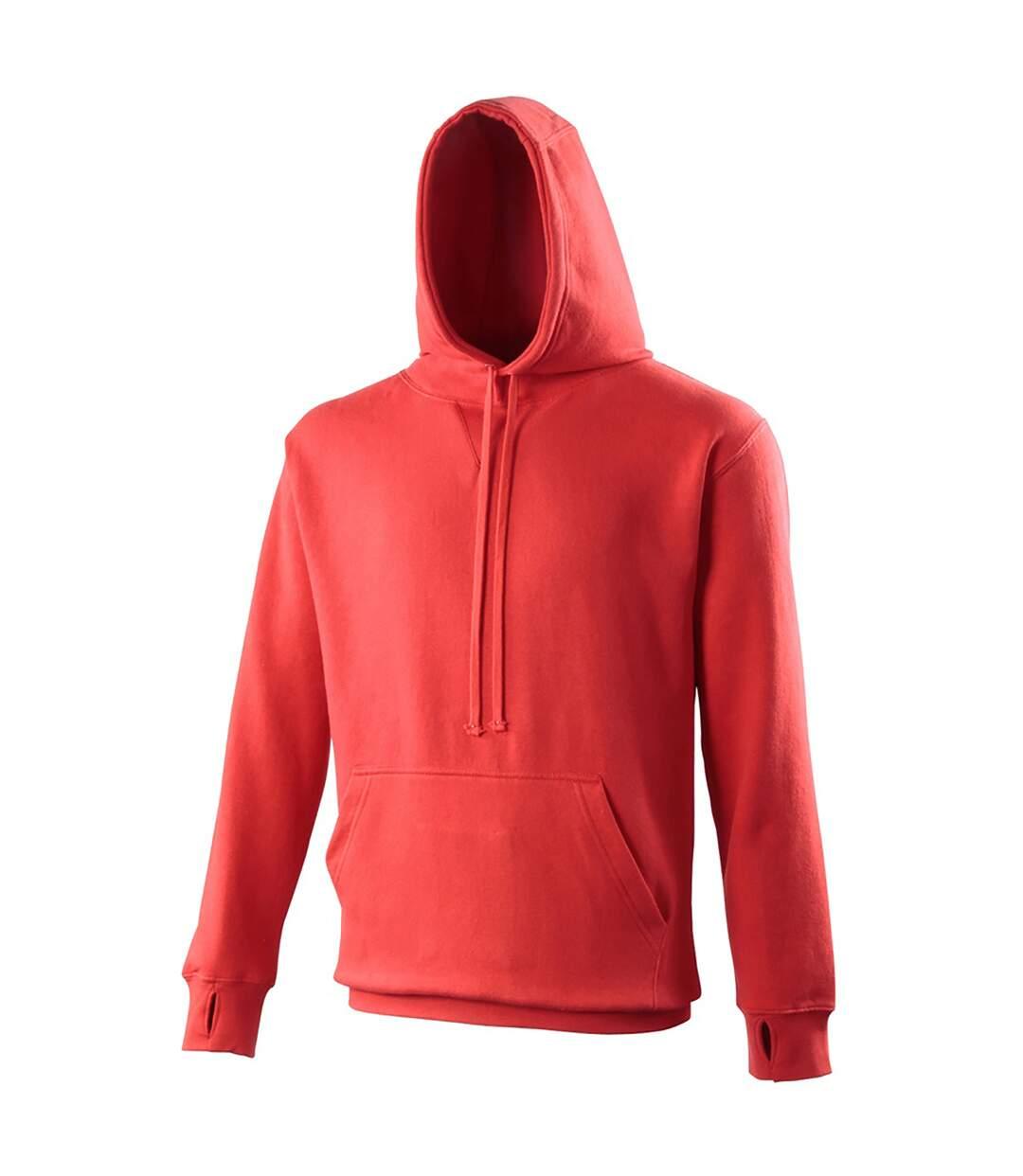 Awdis Mens Street Hooded Sweatshirt / Hoodie (Jet Black) - UTRW170