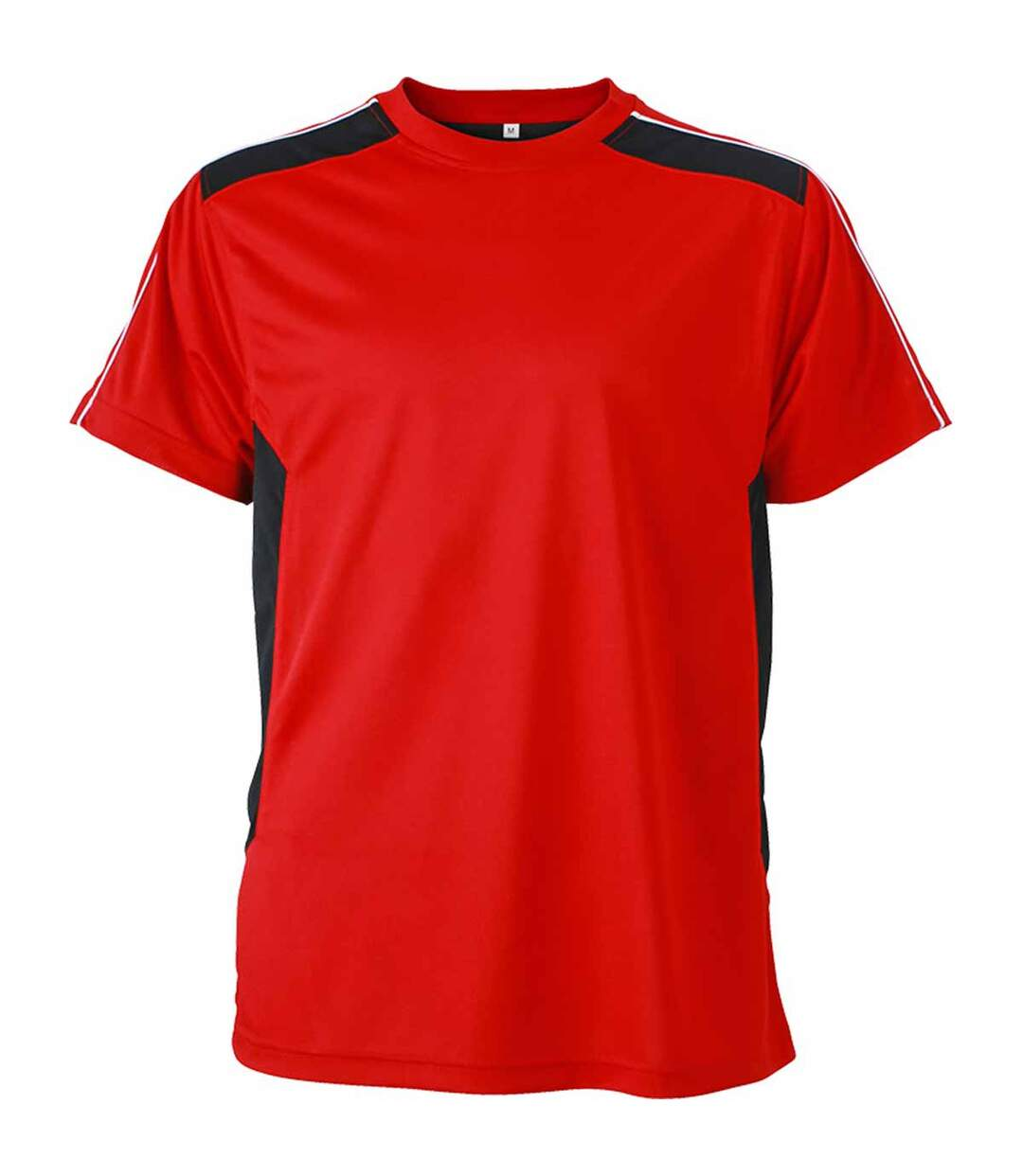 T-shirt artisan anti-bactérien anti-statique - JN827 - rouge