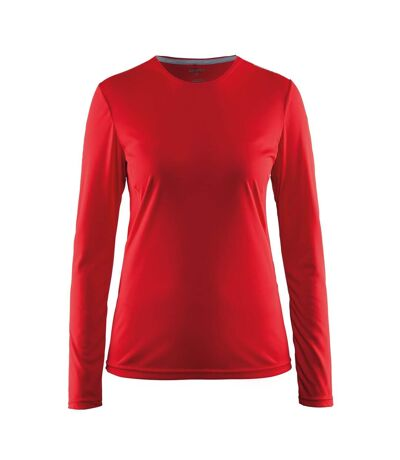 Craft Womens/Ladies Mind Long Sleeve T-Shirt (Red) - UTRW6158