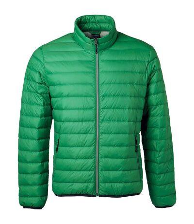 Veste doudoune matelassée duvet - JN1140 - vert - Homme