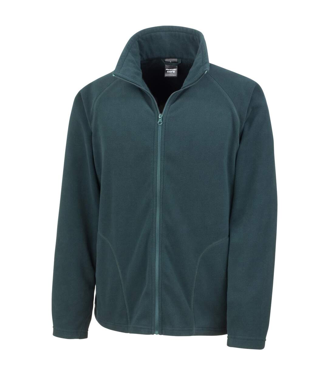 Result Core Mens Micron Anti Pill Fleece Jacket (Orange) - UTBC852