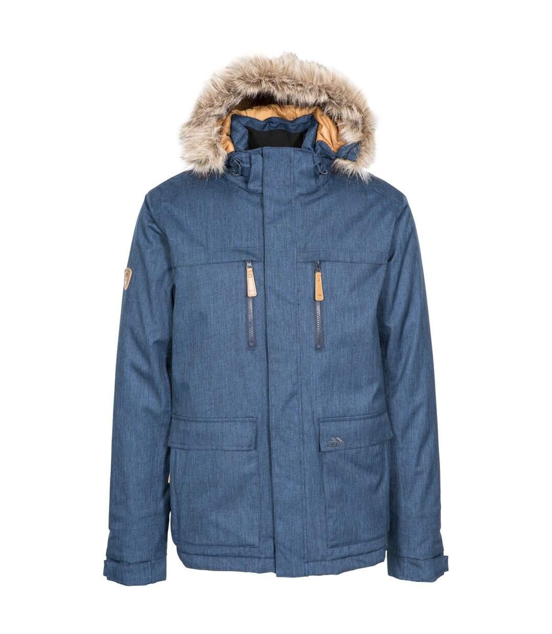 Trespass Mens King Peak Waterproof Jacket (Navy) - UTTP4357
