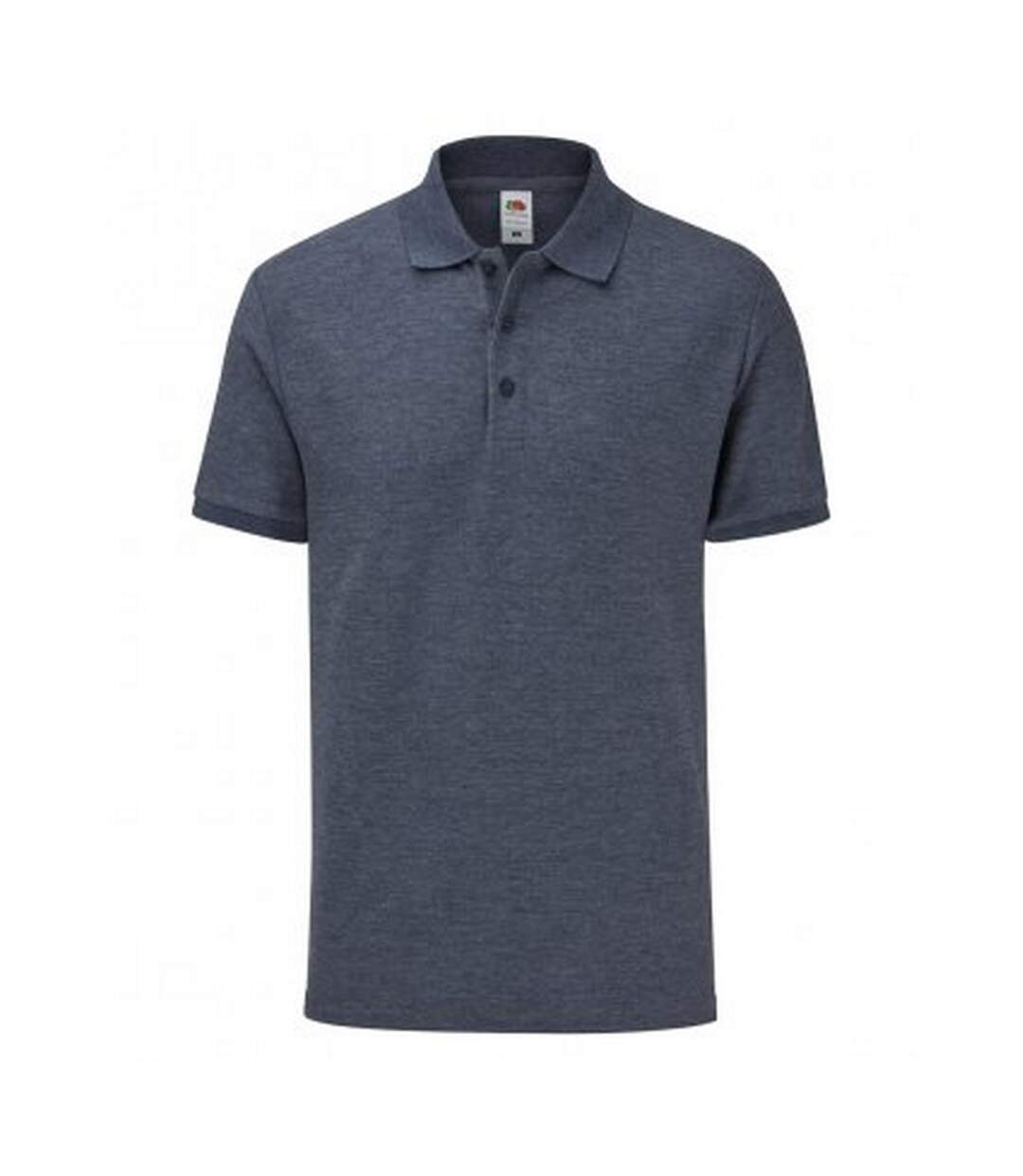 Fruit Of The Loom Mens Tailored Poly/Cotton Piqu Polo Shirt (Heather Navy) - UTPC3572
