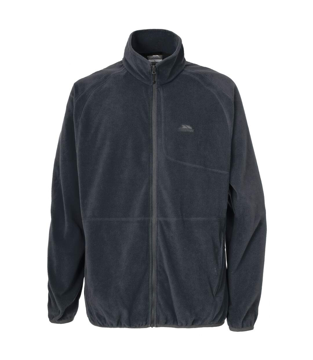 Trespass Mens Gladstone Full Zip Fleece Jacket (Flint) - UTTP260