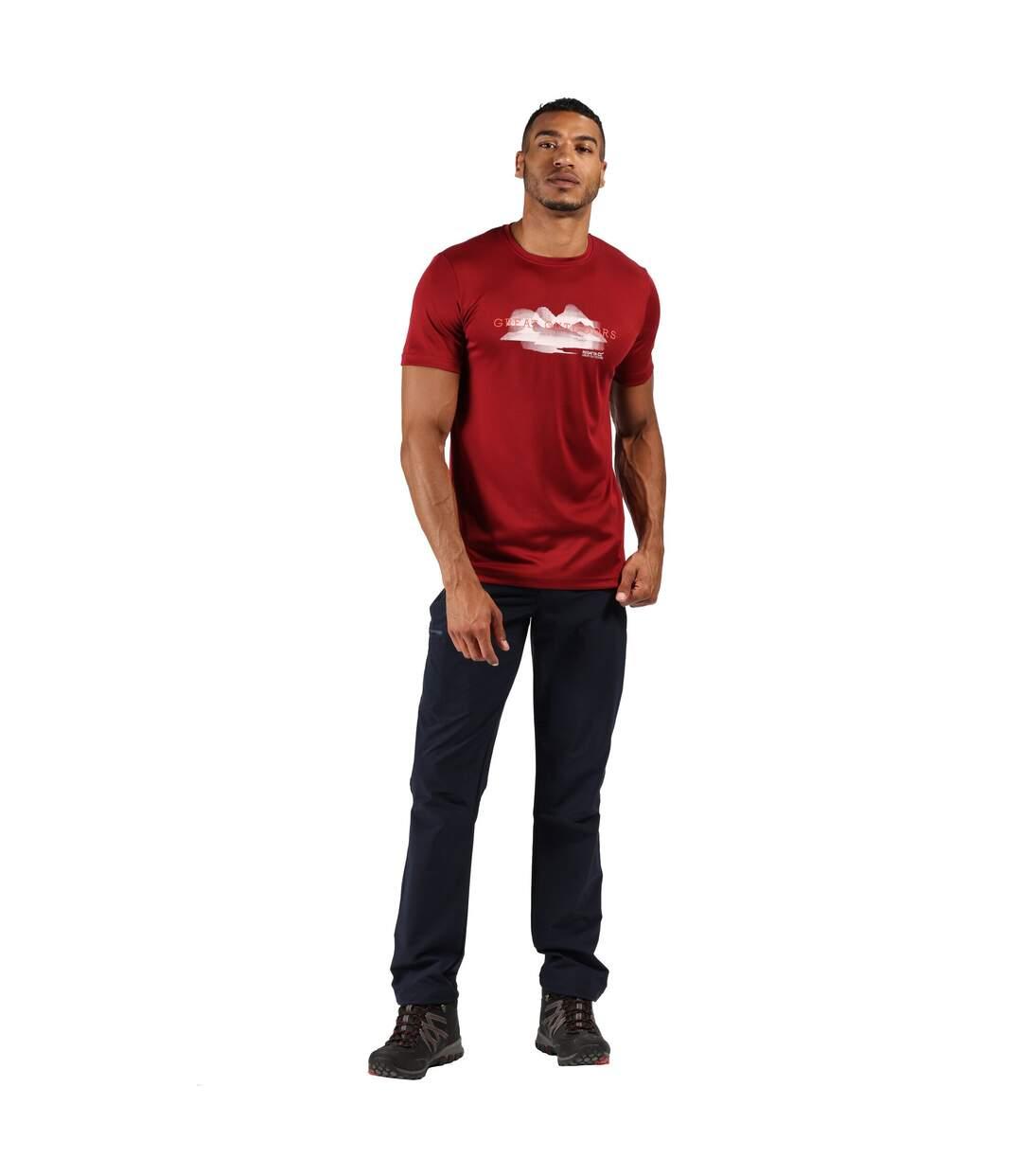 Regatta - T-shirt de sport FINGAL - Homme (Noir) - UTRG4946