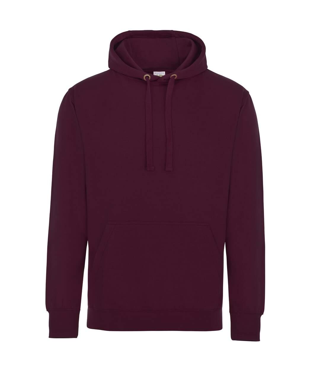 AWDis Just Hoods Adults Unisex Supersoft Hooded Sweatshirt/Hoodie (Hot Pink) - UTRW3926