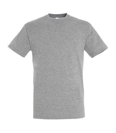 SOLS - T-shirt REGENT - Homme (Gris chiné) - UTPC288