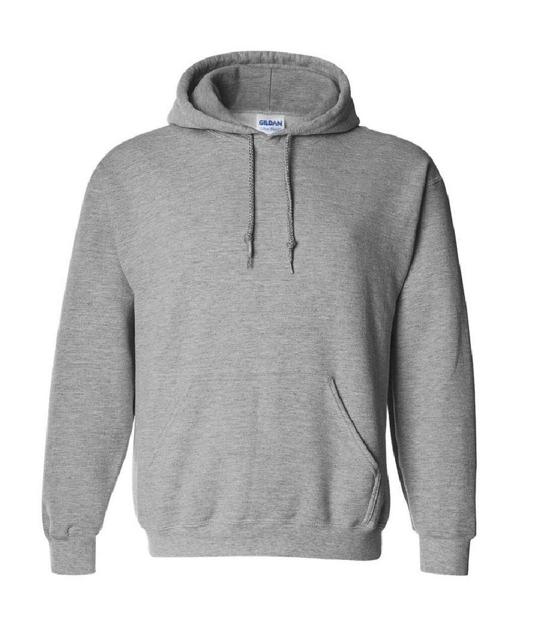 Gildan Heavyweight DryBlend Adult Unisex Hooded Sweatshirt Top / Hoodie (13 Colours) (Sport Grey) - UTBC461