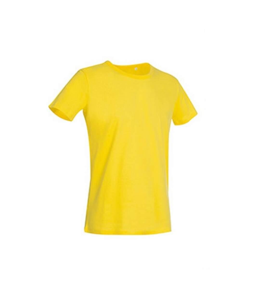Stedman Mens Stars Ben Crew Neck Tee (Daisy Yellow) - UTAB355