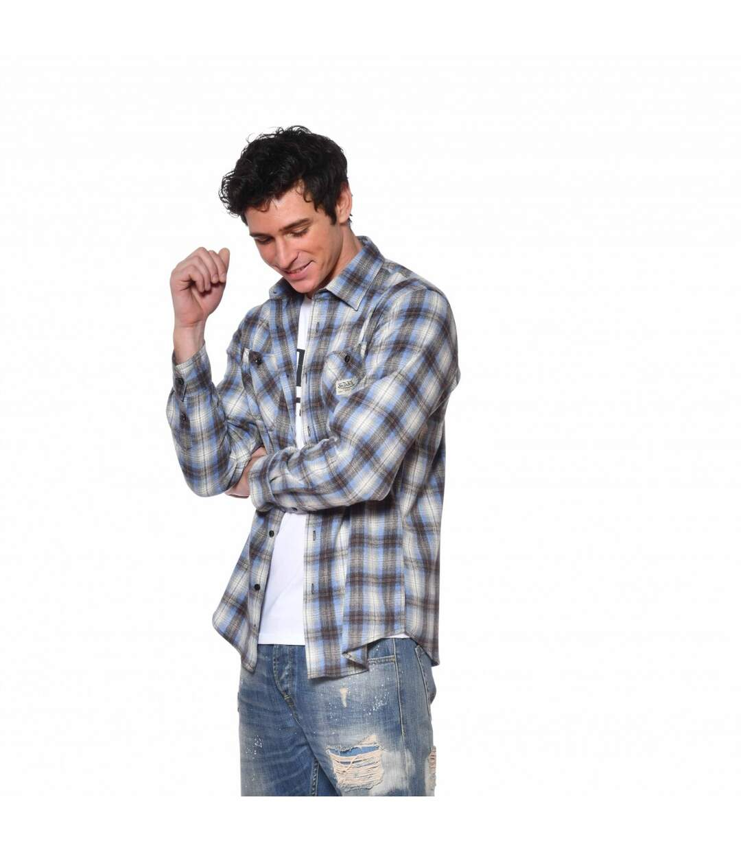 Chemise à carreaux Jack Homme