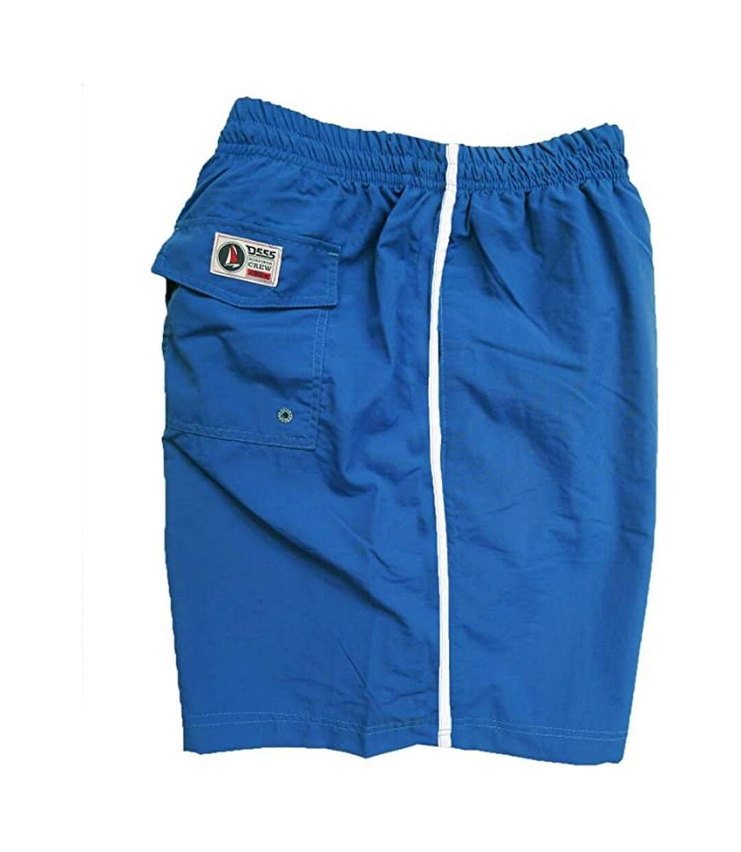 Duke Mens Yarrow Kingsize Full Length Swim Short (Royal) - UTDC193