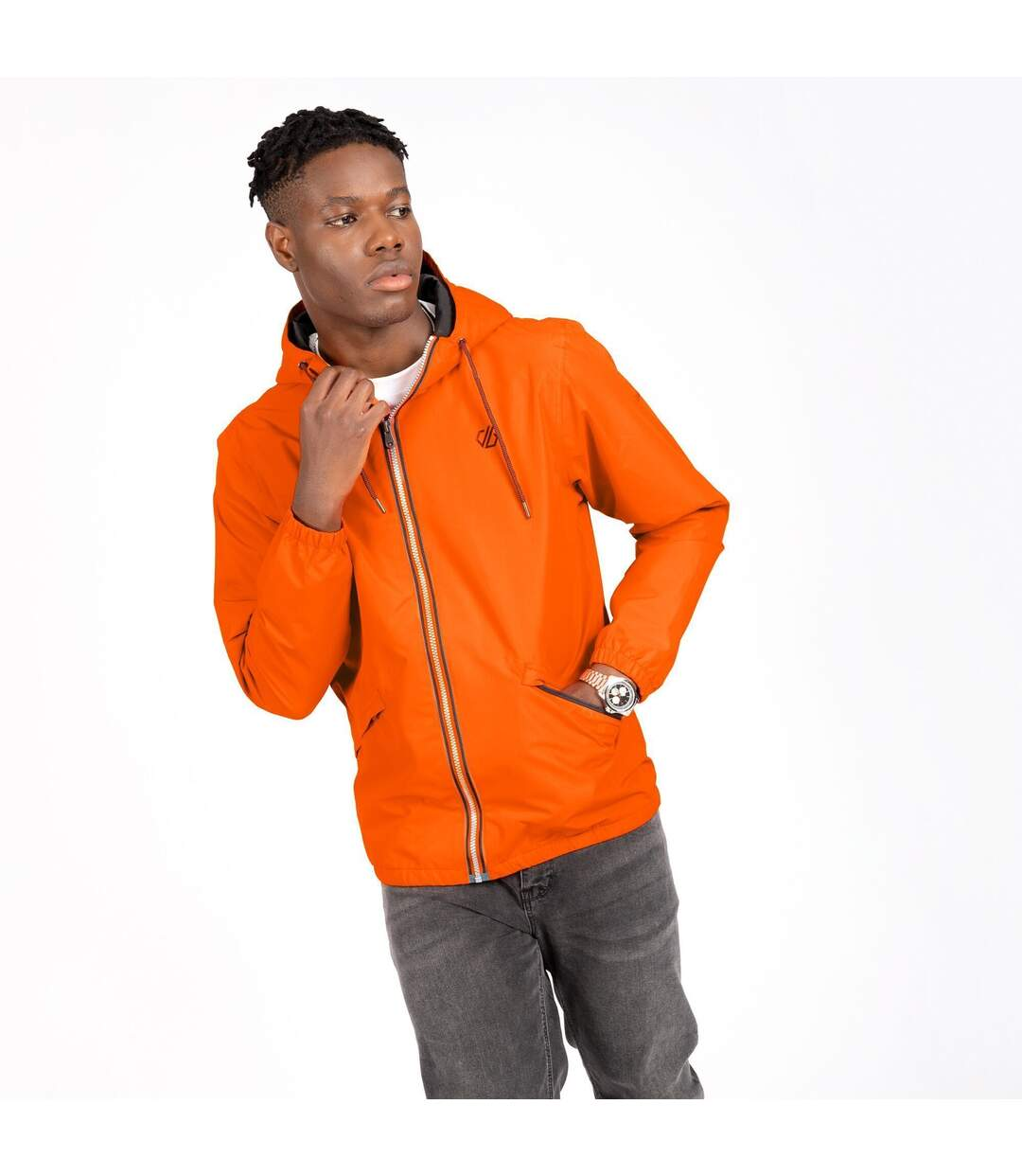 Dare 2B Mens Occupy Jenson Button Lightweight Jacket (Rusty Orange) - UTRG5969