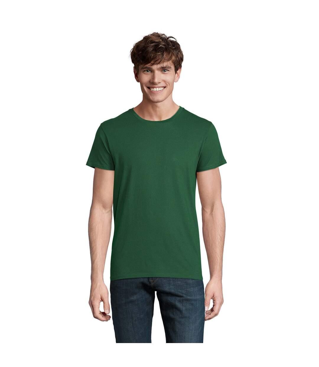 SOLS Mens Crusader Organic T-Shirt (Bottle Green) - UTPC4316